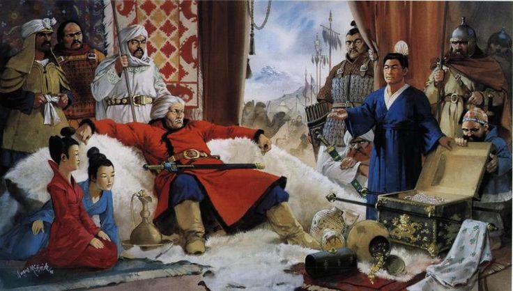 Angus McBride - Atila el Huno (395-453 dC)