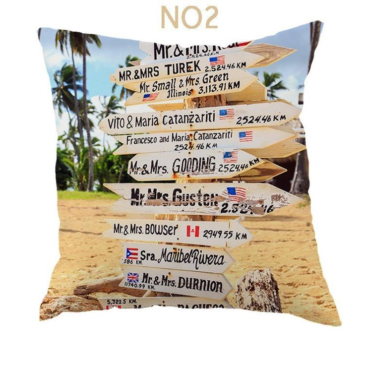 Shop | Beautiful Beach Style Throw Pillows Case | $$14.40 | Unique Home Decor
