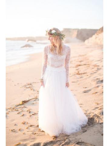 Robe de mariage tulle princesse destination