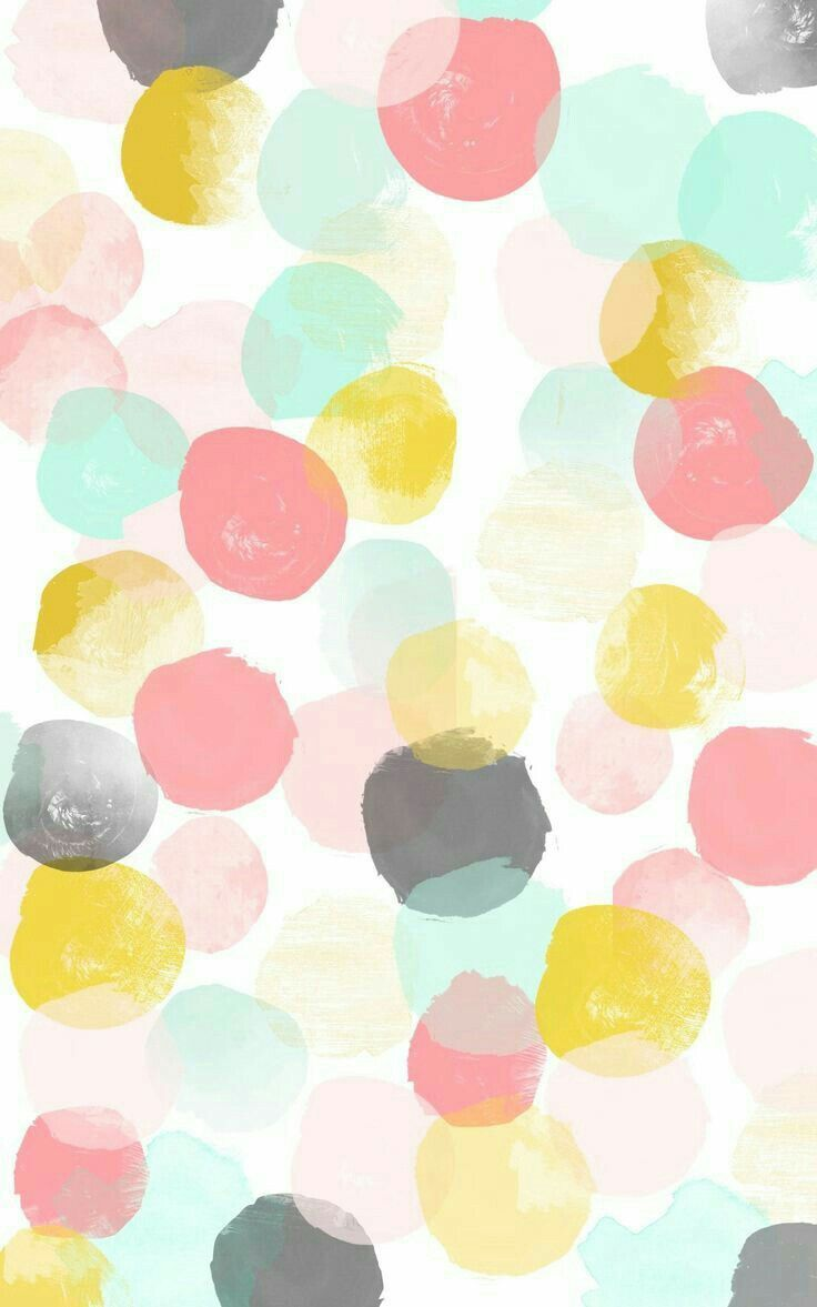 Love How Simple And Dreamy This Pattern Is Pastelpattern Circlespattern Dotspattern Pas Dots Wallpaper Iphone Background Wallpaper Cute Patterns Wallpaper