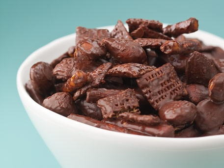 Chocolate crunch Chex mix