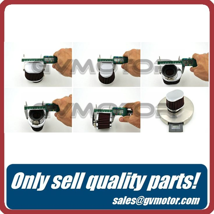 Stainless Ring Motorcycle Air Filter 38MM 42MM 48MM 50MM 52MM 54MM Cleaner For HONDA CB400 CB550 CB750 Kawasaki KZ650 Zephyr 750