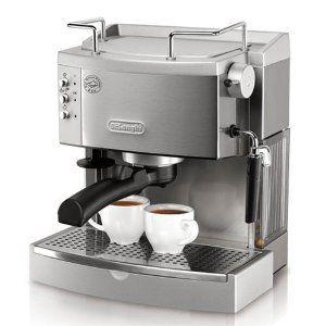 DeLonghi EC702 15-Bar-Pump Espresso Maker, Stainless --- http://www.pinterest.com.itshot.me/157