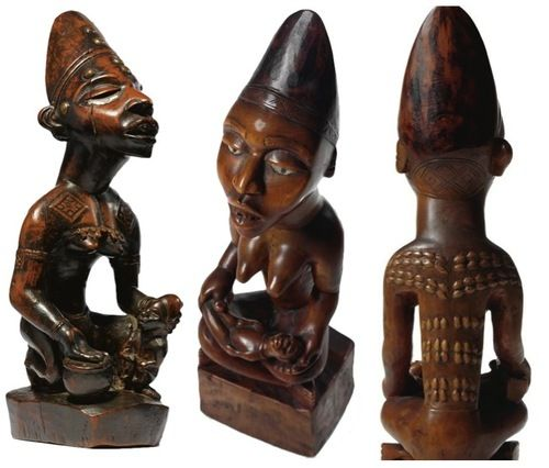 Image Credits Left Image: Sotheby's The Robert Rubin Collection of African Art New York Auction, 13 May 2011 Middle & Right Images: Sotheby's The Collection of Frieda and Milton Rosenthal: African and...