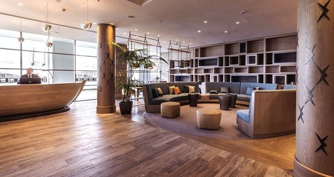 The Hilton Auckland, New Zealand - Hotel lobby lounge new design by CHADA.