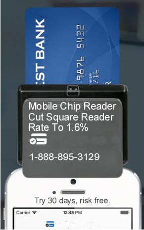 Compare Credit Card Merchant Account Rates For: Square Reader, Wells Fargo, Bank of America