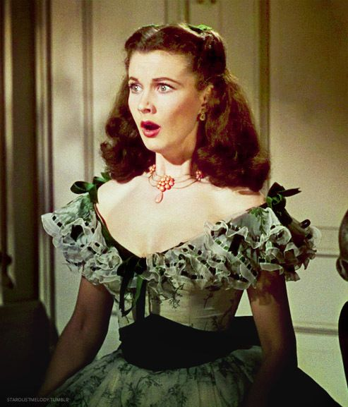 Gone With the Wind, Vivien Leigh wearing Joseff Hollywood Jewelry
