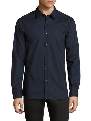 HUGO BOSS Elisha Diagonal Chevron Shirt. #hugoboss #cloth #shirt