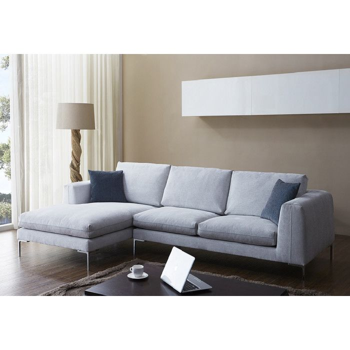Best You Ll Love The Bianca Fabric Sectional At Allmodern 400 x 300