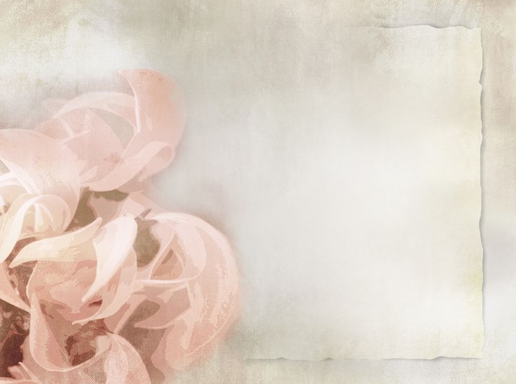 Floral Antique Wedding Background For Your Virtual
