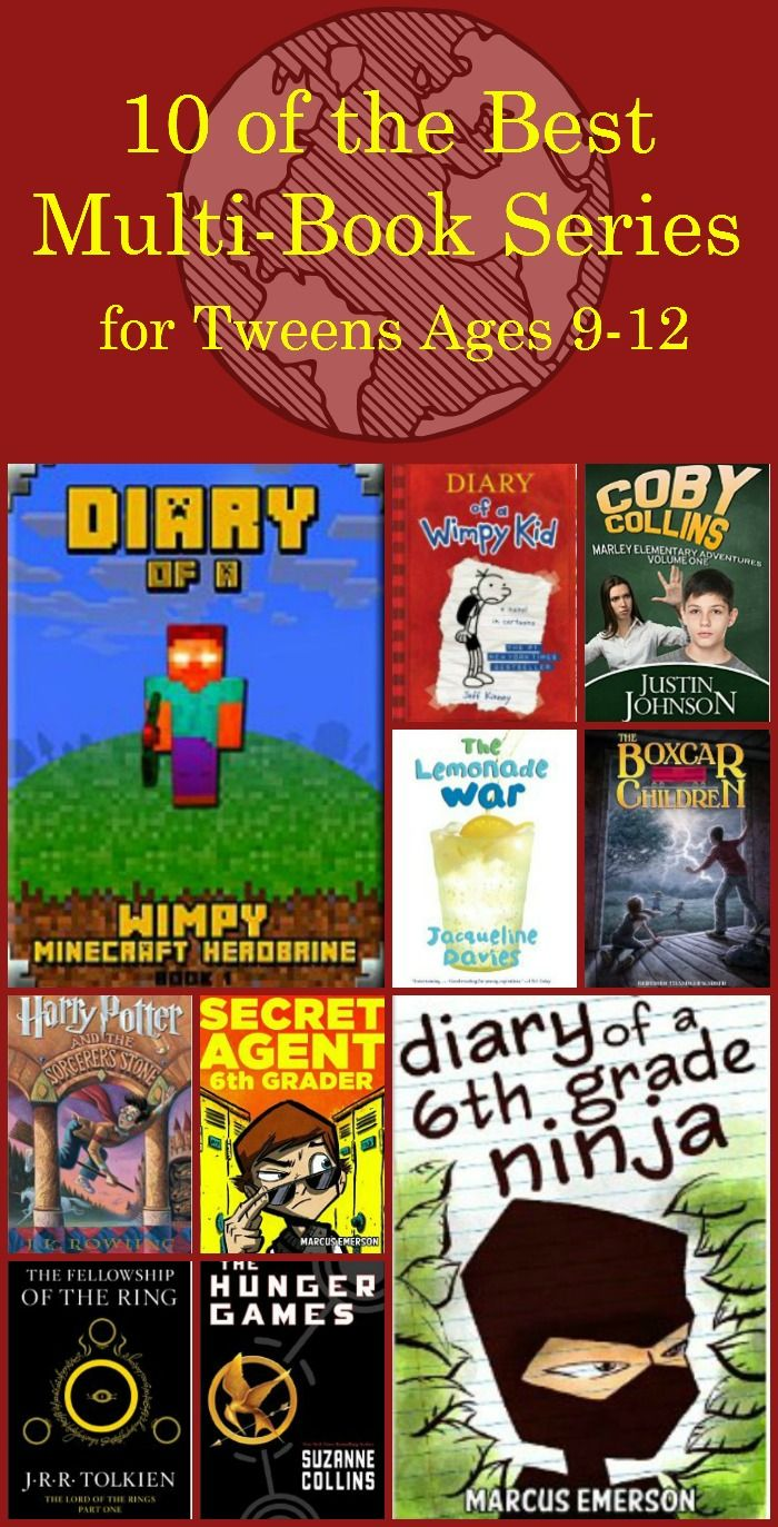 Get an 11 year olds list of best book series for tweens - all available on Kindle Unlimited FREE!!!!