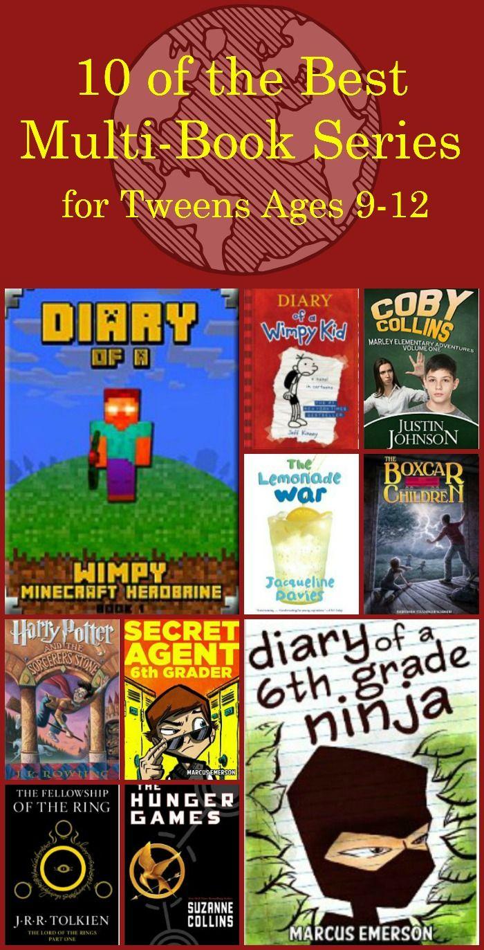 Best Books For Tweens Ages 9 12 Rh Contributors Pinterest