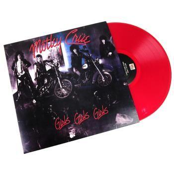 """È stato ripubblicato in vinile nero. Il quarto album in studio di Mötley Crüe """"Girls, girls , girls"""" era stato inizialmente pubblicato nel 1987 e infine li aveva portati al successo. Le canzoni sono leggermente influenzate dal blues e trattano dello stile di vita molto duro della band."""