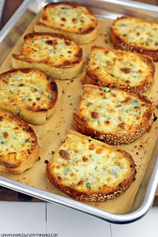 Cheesy Garlic Bread #recipes