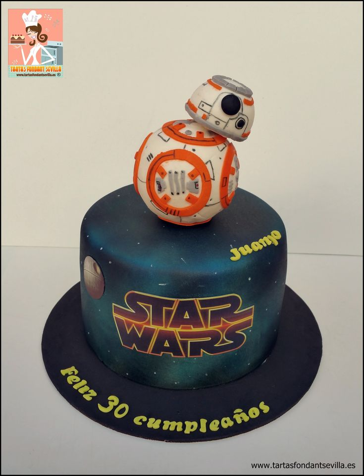 tarta Star Wars BB-8