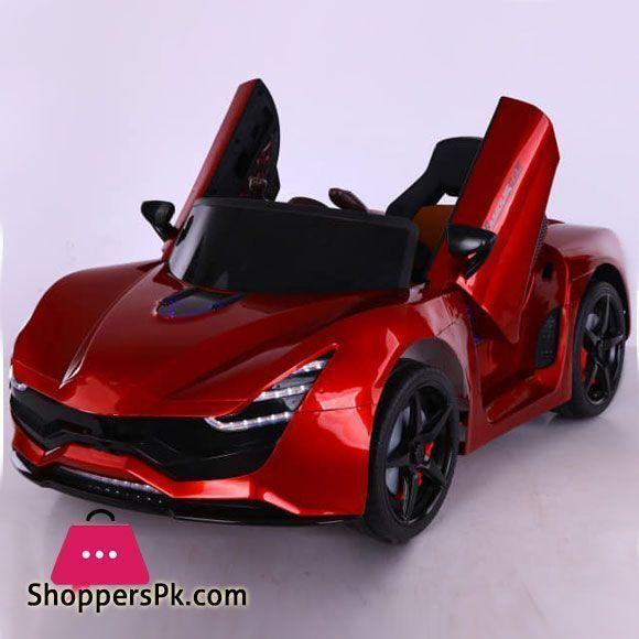 Buy Kids Ride On Electric Car Auto Ferrari Laferrari Style Red At