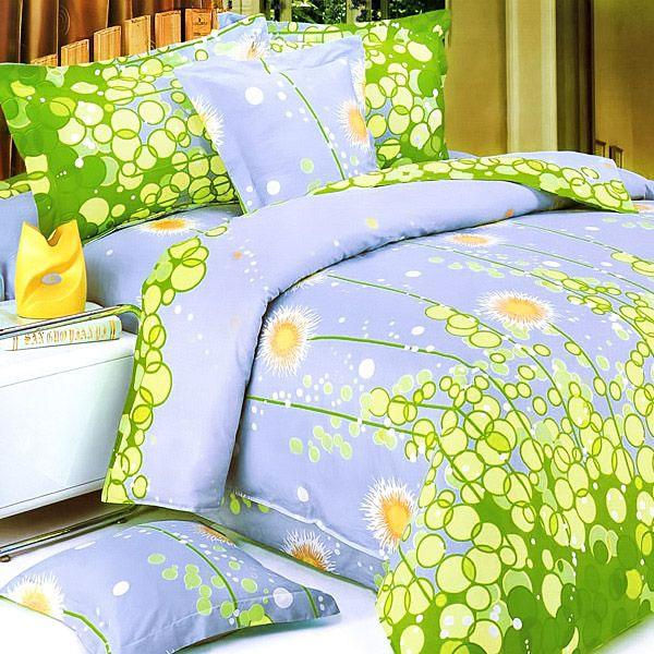 [Dandelion Dream] 100% Cotton 4PC Sheet Set (King Size)