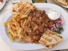 """Traveler photo by Fingateable: """"Gyros"""" (Aug 2016) — at El Greco Steakhouse Restaurant."""