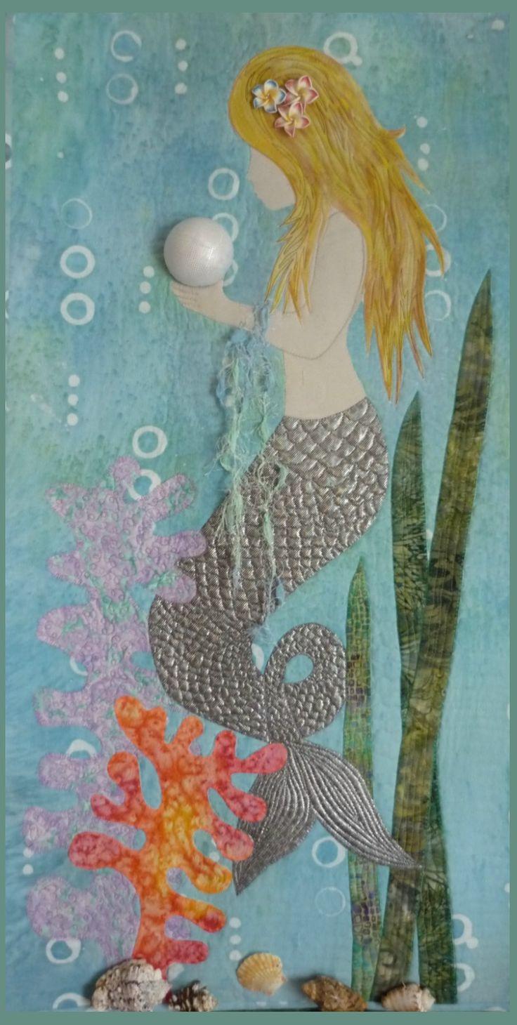 mermaid quilt idea