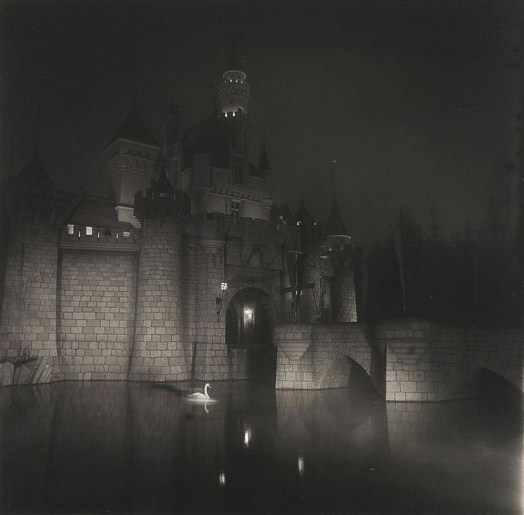 A Castle in Disneyland, California, 1962 by Diane Arbus