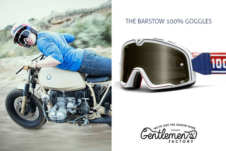 Lunettes Barstow 100%, lunettes cross vintage, #barstow #gentlemensfactory, #custombike #motovintage #caferacer moto vintage, casque Bell, Bell Helmet, moto custom, cafe racer, scrambler, W650 www.gentlemens-factory.com Photo : Laurent Scavone http://scavonelaurentphotos.tumblr.com