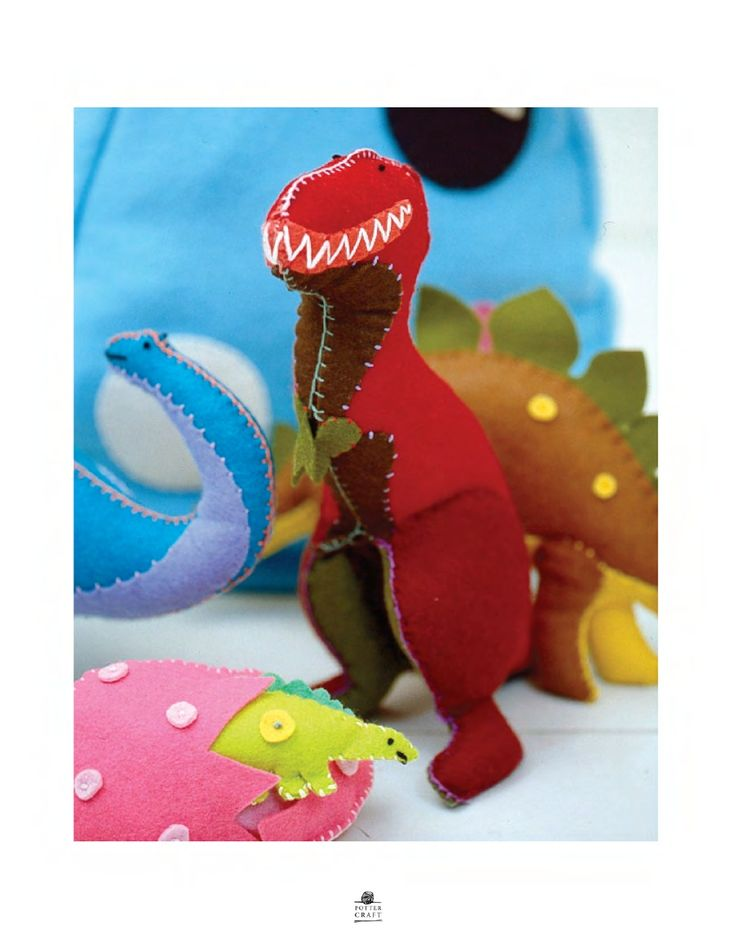 Dinosaur stuffy.