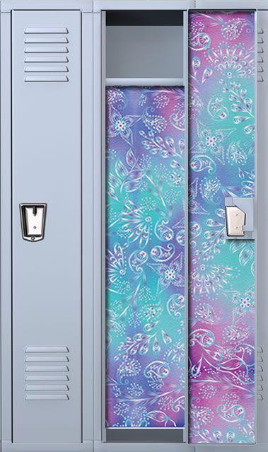 Floral Paisley School Locker Wallpaper
