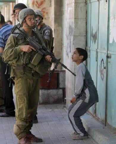 Palestyńskie dzieci pochowane żywcem przez Israel Defense Forces