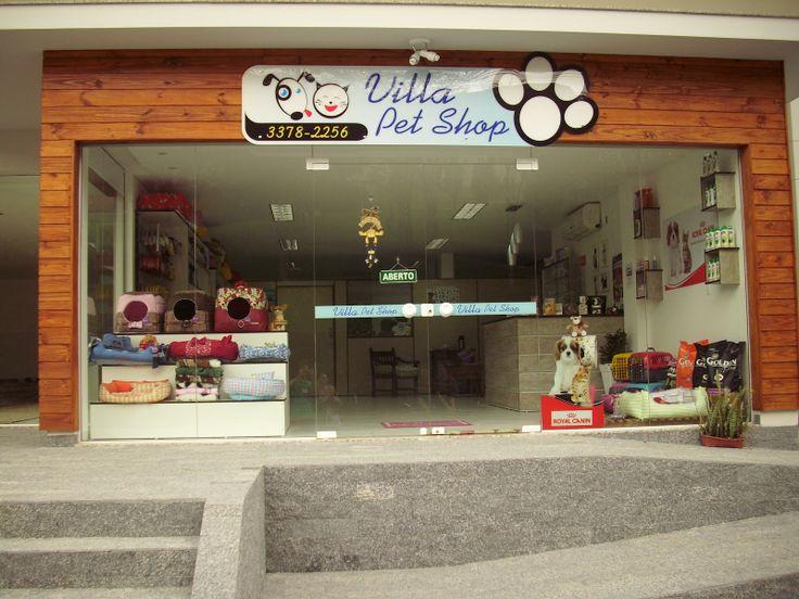 Exemplo de loja pet shop