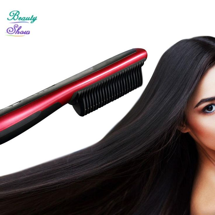 2017 New Brand Fast Hair Comb Straightener Brush Comb Electric LCD Auto Temperature Control Flat Iron chapinha Straightener #clothing,#shoes,#jewelry,#women,#men,#hats,#watches,#belts,#fashion,#style