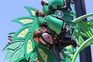 Green Lantern Roller Coaster