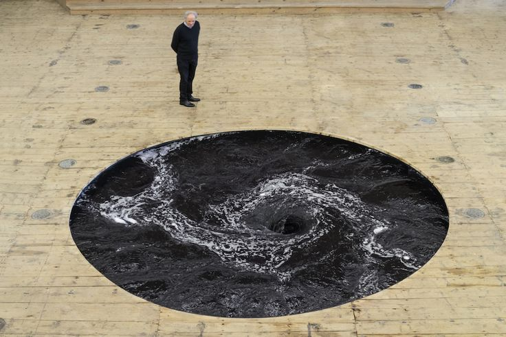 Anish Kapoor's Perpetual Black Water Whirlpool |