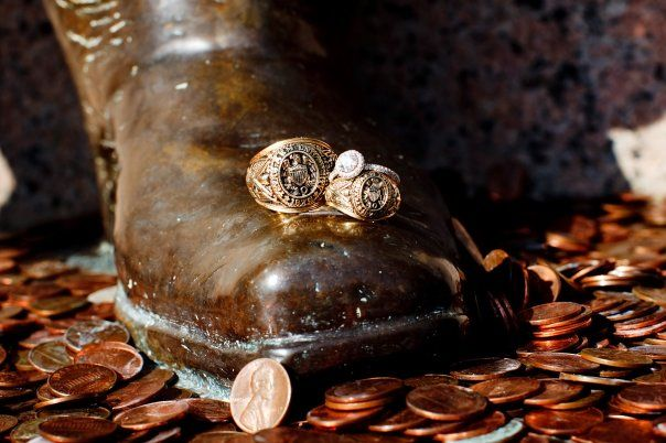 I'd recognize that boot and those rings anywhere.  Sul Ross & Aggie rings. Love Aggieland.