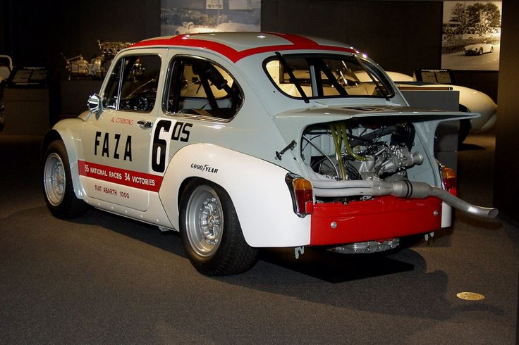 Fiat Abarth 1000 - Team FAZA 35 national races 34 victories