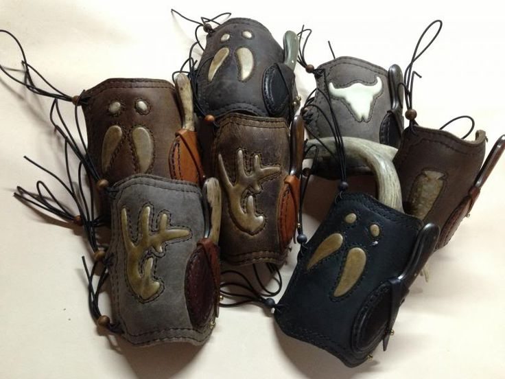Indian Hunting Bows for Sale | Topic: Farr West Leather Knife/Armguard Sale