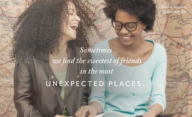 The Sweetness We Find in Unexpected Friends