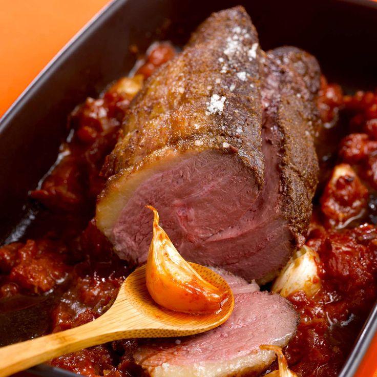 Découvrez la recette du rôti de magret de canard