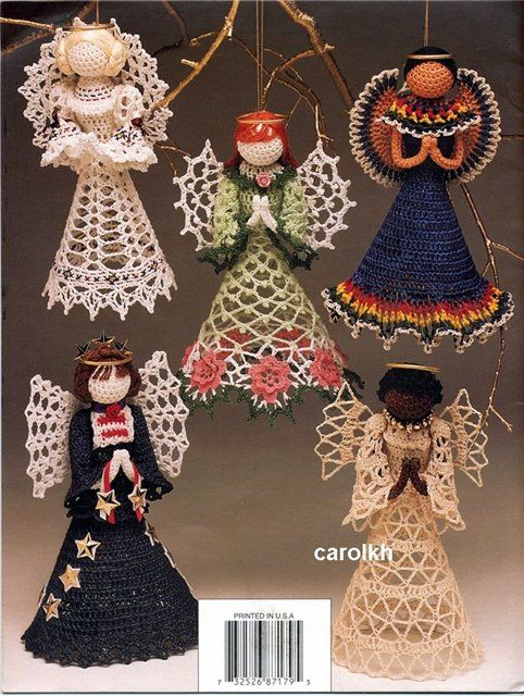 Christmas crochet ideas christmas ornaments crafts for Mexican christmas ornaments crafts