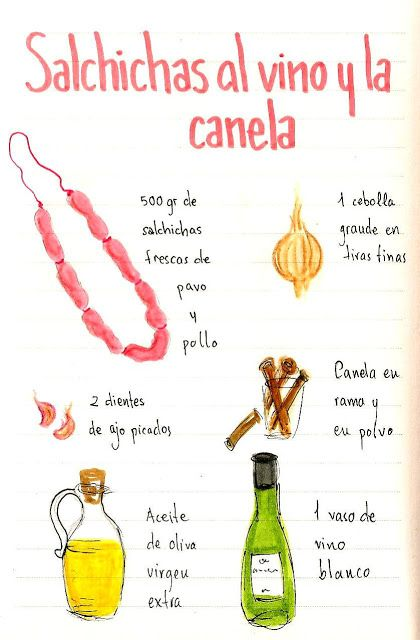 Salchichas al vino y la canela  https://www.pinterest.com/alimenbienestar/recetas/