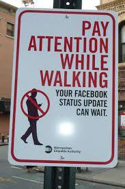 Walk with some common sense