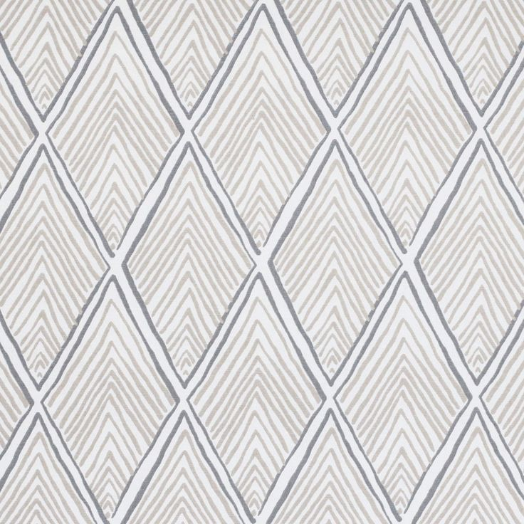A neutral geometric fabric with a global feeling. Suitable for upholstery, drapery, curtains, roman blinds, cushions, pillows and other home decor accessories.Manufacturer: Robert AllenContent: 100% CottonWidth: 56