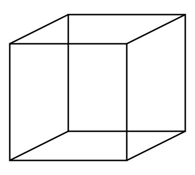 Cube http://www.anopticalillusion.com/2012/03/necker-cube/