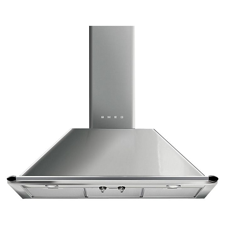 Buy Smeg KTR90XE Chimney Cooker Hood, Stainless Steel Online at johnlewis.com