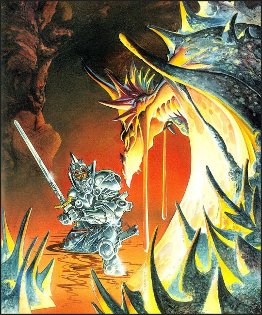 Alfonso Azpiri, Cover of Camelot Warriors