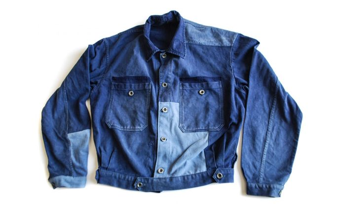 1930 patched workwear spencer