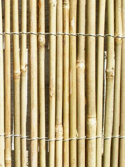 Canisse en Cannes de Bambou 4m x 1,5m - Papillon™ Cette robuste et écologique canisse en cannes de bambou s'intègrera dans tout type de jardin. Les canisses sont un bon moyen d'améliorer une barrière déjà présente et de border des massifs fleuris. Le bambou est suffisamme