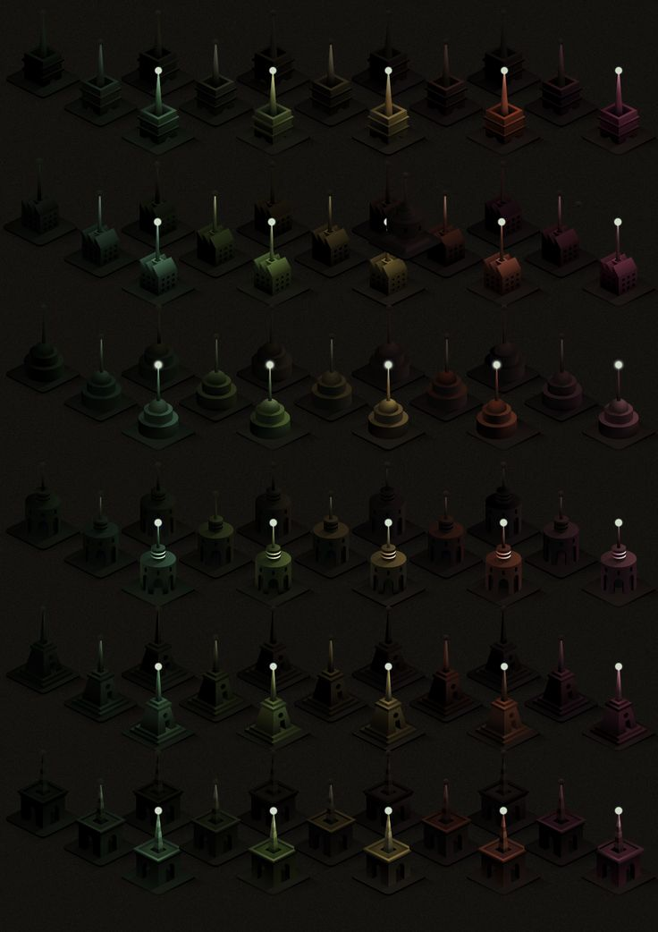 Building chart for Isotransmitters   https://www.behance.net/gallery/30873475/Isotransmitters