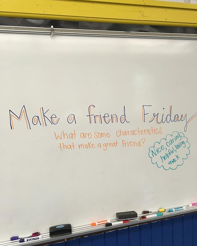 Make a friend Friday                                                                                                                                                                                 More
