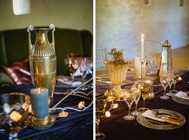 A Little Bit Boho, A Little Bit Rock 'n Roll…Decor sourcing:  Creation Events:  www.creationeventscoord,com; Flower styling:  www.paradiso.co.za