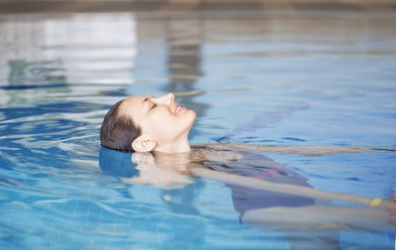 Swimming and water exercises after surgery